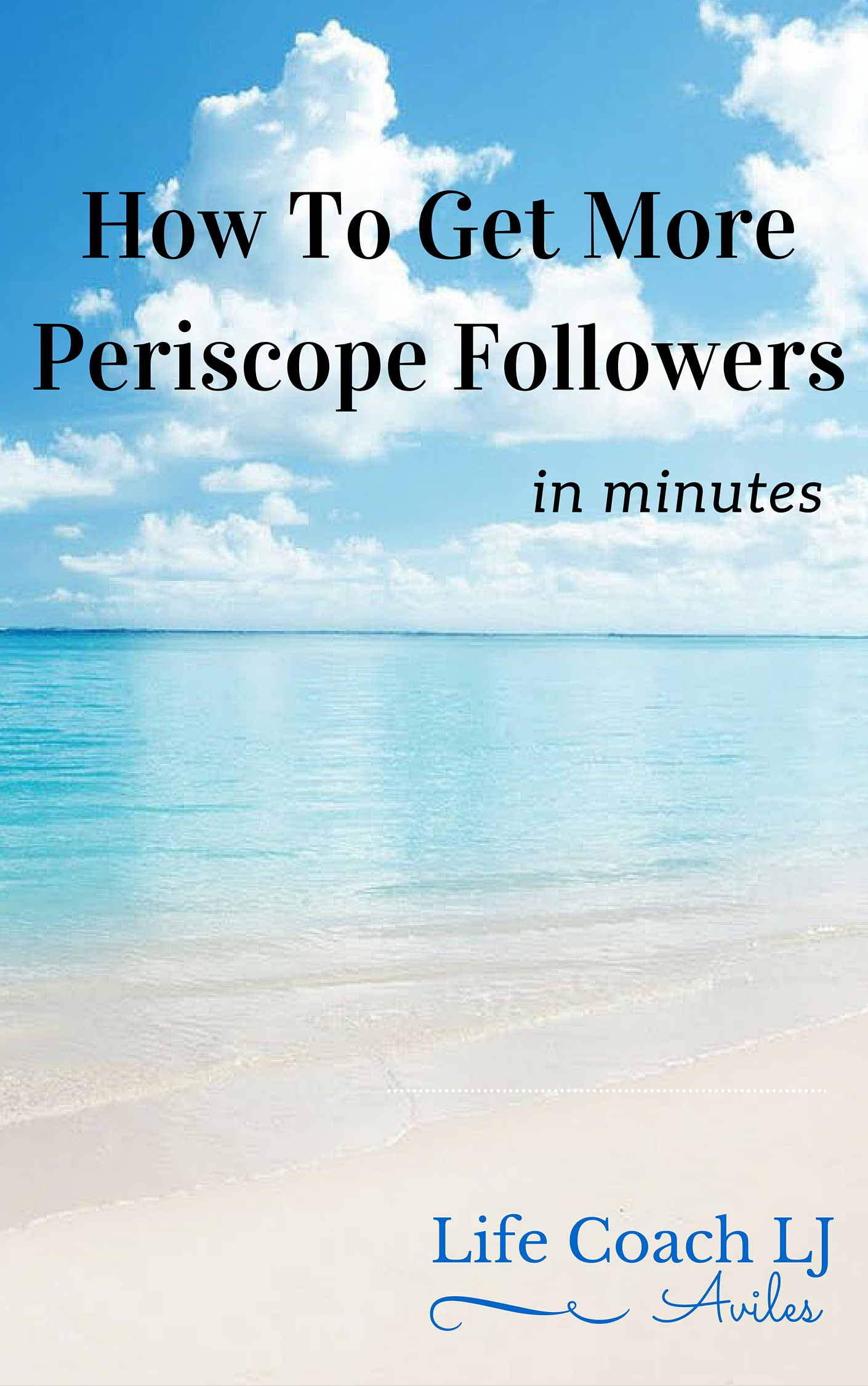 How To Get More Periscope Followers Ebook