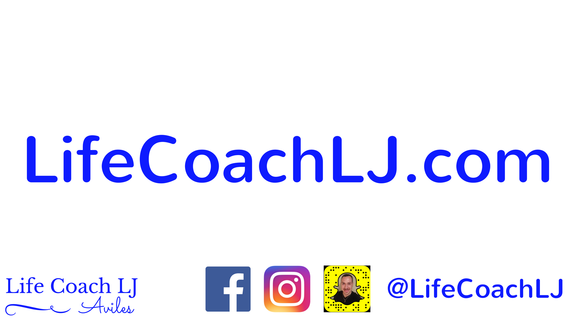 Life Coach LJ Video Ending Image